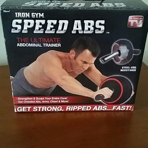 Iron Gym Speed abs abdominal trainer